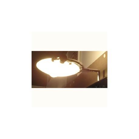 APLIQUE LAMPARA HALOGENA CR/BR SANC